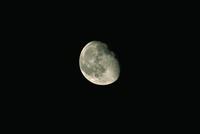 月齢18・6(1990/9/8 21:50) 23018050991| 写真素材・ストックフォト・画像・イラスト素材|アマナイメージズ