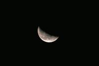 月齢22・6 23018050997| 写真素材・ストックフォト・画像・イラスト素材|アマナイメージズ