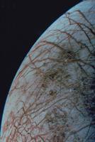 木星の衛星 エウロパの表面