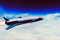 次世代軌道往還機(スペースシャトル)のイラスト