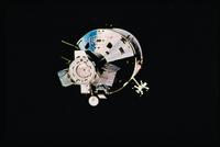 ソユーズから見たアポロ宇宙船