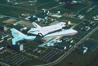 スペースシャトルと輸送機