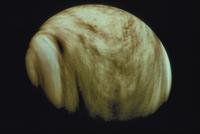 金星(紫外線で見た) 23018051274| 写真素材・ストックフォト・画像・イラスト素材|アマナイメージズ
