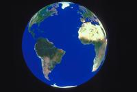 地球(南アメリカ・アフリカ)