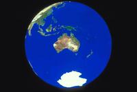 地球(南半球の一部)