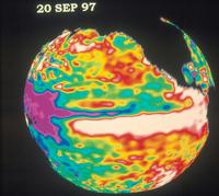 地球・1997年のエルニーニョ