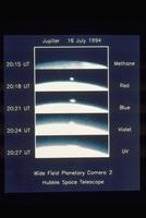 シューメーカー・レヴィ第9彗星衝突の瞬間
