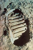 月面の靴跡