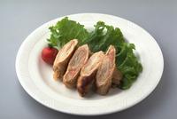 豚のロールソテー(長ねぎ入り)
