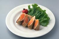 豚のロールソテー(にんじん入り)
