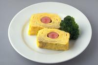だし巻き卵(ウインナー入り)