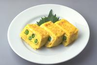 卵焼き(グリーンピース入り)