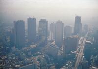 スモッグ(新宿高層ビル街)