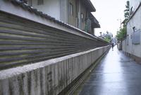 本隆寺の瓦壁