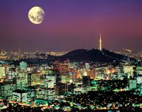 ソウル市 夜景