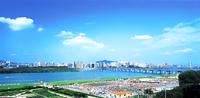 漢江市民公園全景(プール)
