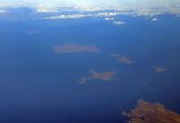 納沙布岬と北方領土の歯舞群島