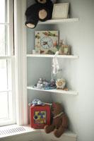 子供部屋の棚