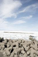 野付半島の流氷