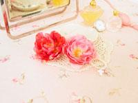花と香水と時計
