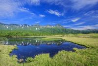 知床連山と一湖