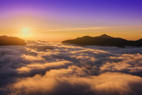 ツエノ峰の雲海