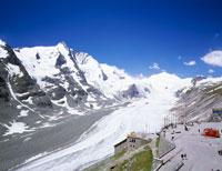 グロースグロックナー山と大氷河 パステルツェ氷河