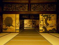 西本願寺の白書院