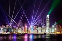 香港 シンフォニーオブライツ 25023070418| 写真素材・ストックフォト・画像・イラスト素材|アマナイメージズ
