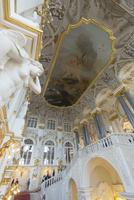 エルミタージュ美術館 大使の階段 25023074145| 写真素材・ストックフォト・画像・イラスト素材|アマナイメージズ
