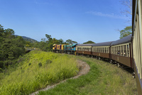 キュランダ高原列車 25023074389  写真素材・ストックフォト・画像・イラスト素材 アマナイメージズ