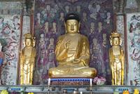 仏国寺 釈迦三尊仏 25023074828| 写真素材・ストックフォト・画像・イラスト素材|アマナイメージズ