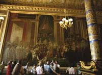 ヴェルサイユ宮殿の載冠式の絵 25026007580| 写真素材・ストックフォト・画像・イラスト素材|アマナイメージズ
