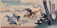 浮世絵 日露戦争の図