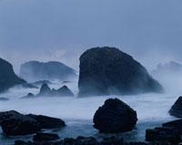 冬の日本海・越前松島