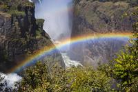 虹とヴィクトリアフォールズ
