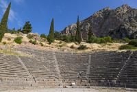 デルフィ遺跡のディオニソス劇場