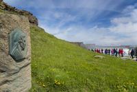 グトルフォスのシグリットの碑 25041035981| 写真素材・ストックフォト・画像・イラスト素材|アマナイメージズ