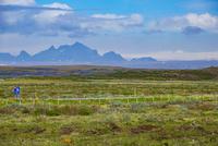 グトルフォスからラングヨークトル氷河方面を望む