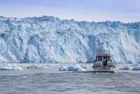 エキップ氷河クルーズ 25041036140  写真素材・ストックフォト・画像・イラスト素材 アマナイメージズ