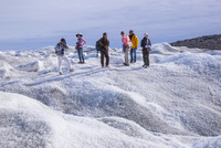 ラッセル氷河 25041036149  写真素材・ストックフォト・画像・イラスト素材 アマナイメージズ
