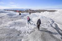 ラッセル氷河 25041036150  写真素材・ストックフォト・画像・イラスト素材 アマナイメージズ