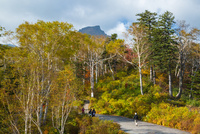 大雪山層雲峡・黒岳ロープウェイ黒岳駅から望む黒岳