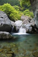 安居渓谷 25053014130  写真素材・ストックフォト・画像・イラスト素材 アマナイメージズ