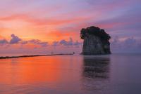 見附島の夜明け