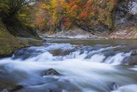 浅布渓谷の四巻の滝