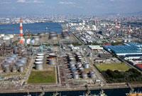堺臨海工業地帯 25075015097  写真素材・ストックフォト・画像・イラスト素材 アマナイメージズ