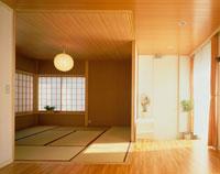 バリアフリーの床の部屋