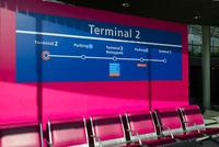 パリ・シャルル・ド・ゴール空港のエアポートシャトル第2ターミナル駅