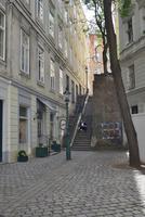 ウイーン旧市街の小路